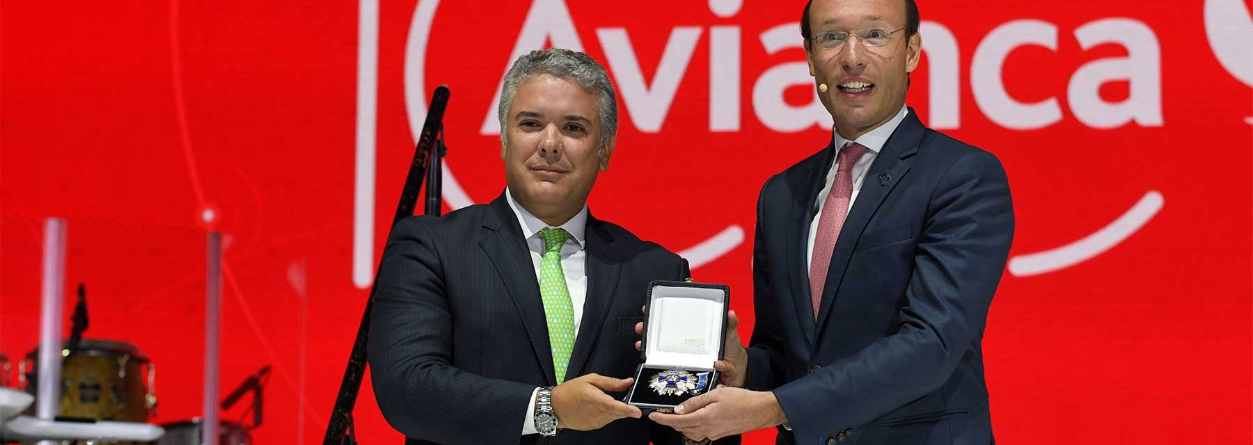 Iván Duque, Avianca.