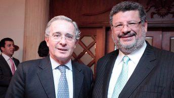 Álvaro Uribe y Jaime Granados