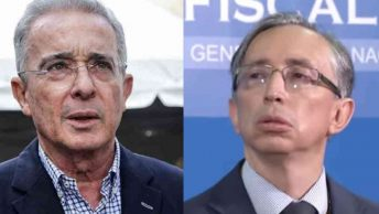 Alvaro Uribe y Gabriel Jaimes