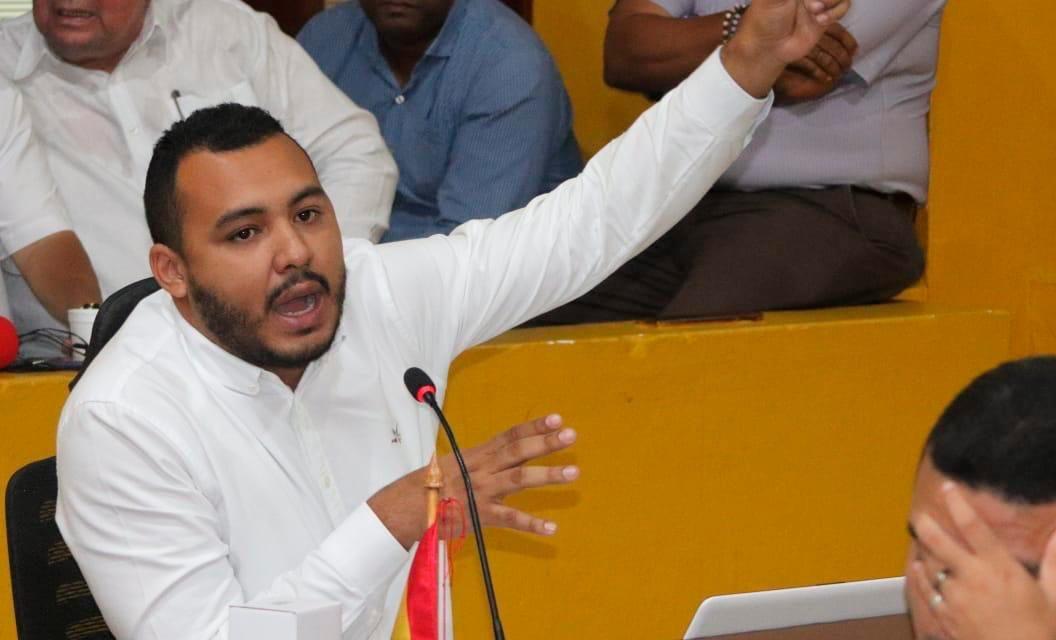 Concejal Julio Bejarano